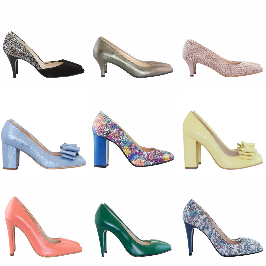Pantofi comozi din piele naturala>>