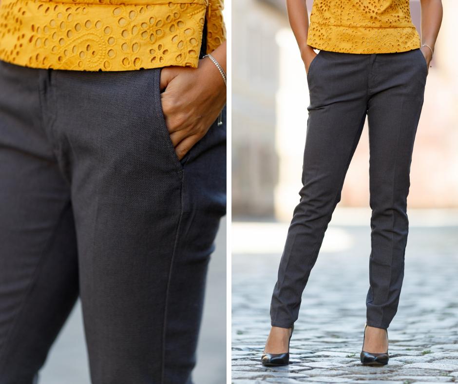 Pantalon dama tip jeans