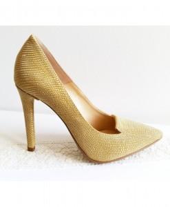 queen-auriu-pantofi-piele-naturala