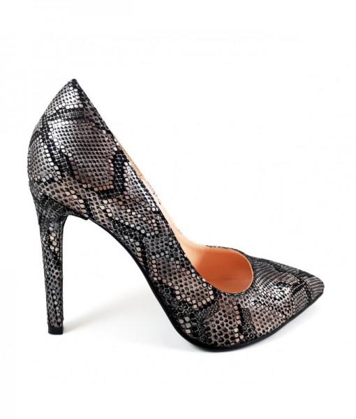 black-snake-stiletto-piele-naturala