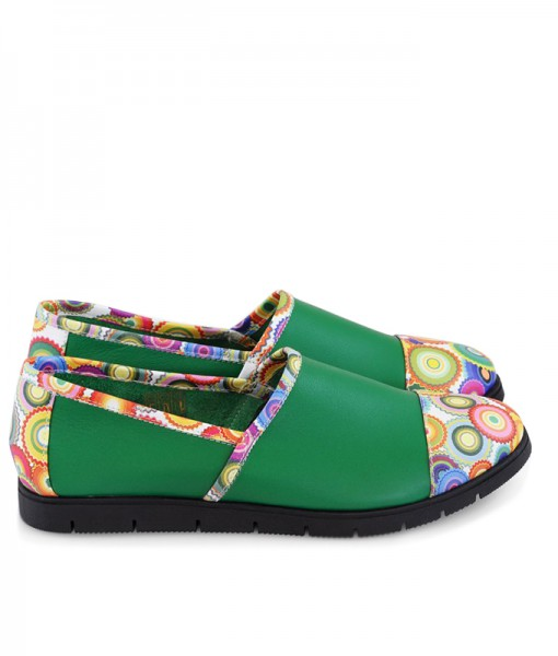 pantofi-sport-din-piele-naturala-verde-kyoto-8098-40