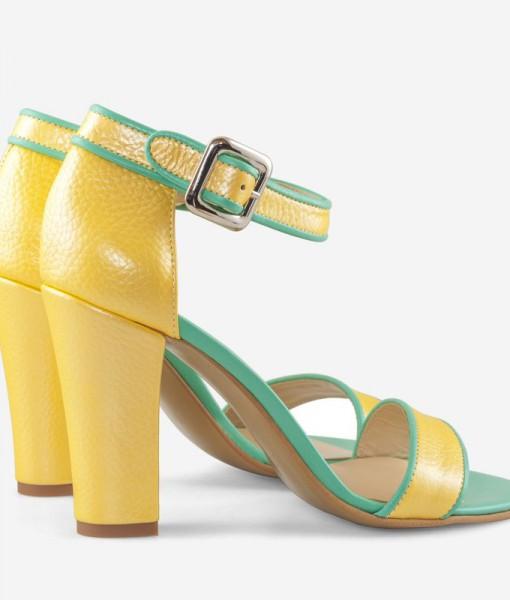 sandale-cu-toc-din-piele-naturala-galben-cu-turqoise-lizette-9025-4