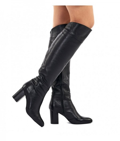 myra-cizme-lungi-negre-piele-naturala