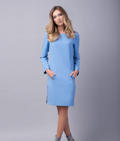 rochie-bleu-dreapta-buzunare-hope1-570x854
