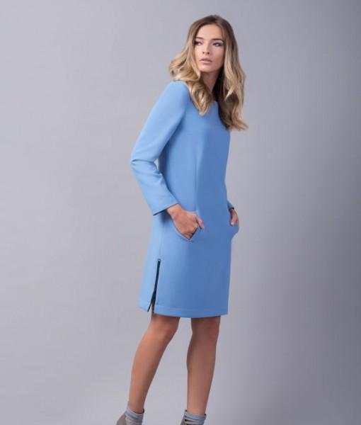 rochie-bleu-dreapta-buzunare-hope2-570x854
