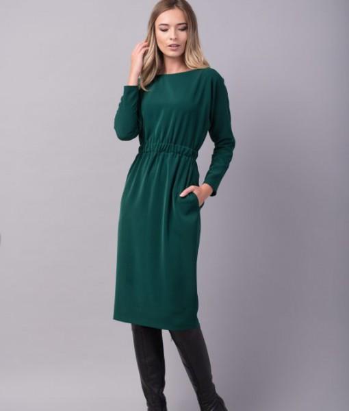 rochie-conica-verde-buzunare-wonder2-570x854