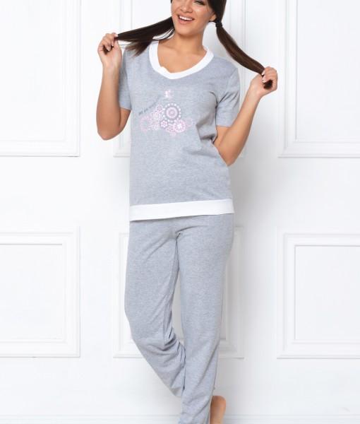 pijama-gri-floricele-268-1262