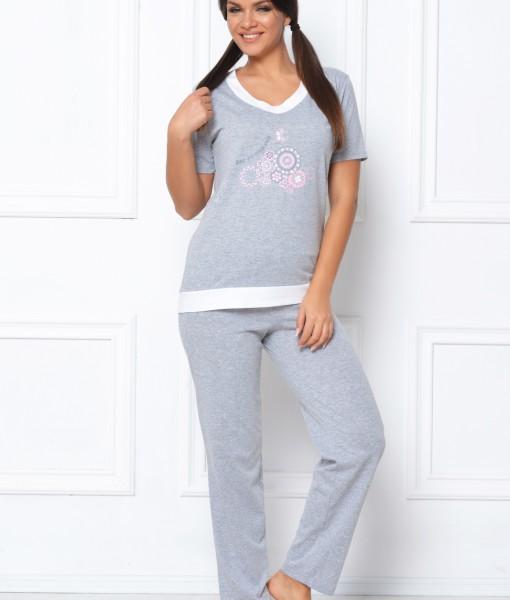 pijama-gri-floricele-268-2942