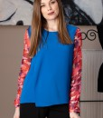 bluza albastra cu maneci de matase (3)
