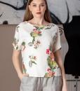 bluza casual cu imprimeu floral (2)