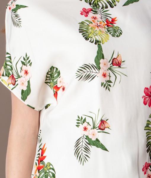 bluza casual cu imprimeu floral (3)
