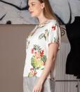 bluza casual cu imprimeu floral (4)