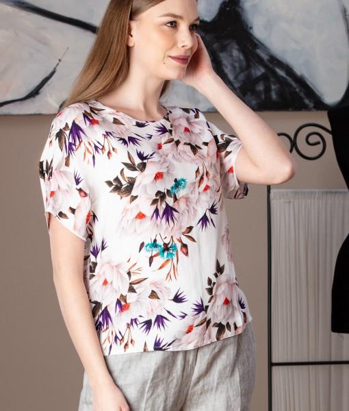 bluza casual cu imprimeu floral (8)