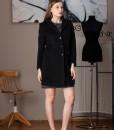palton negru din lana (3)