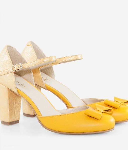 pantofi-retro-din-piele-naturala-galbena-bonita-13879-4