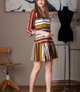 rochie casual cu dungi colorate (3)