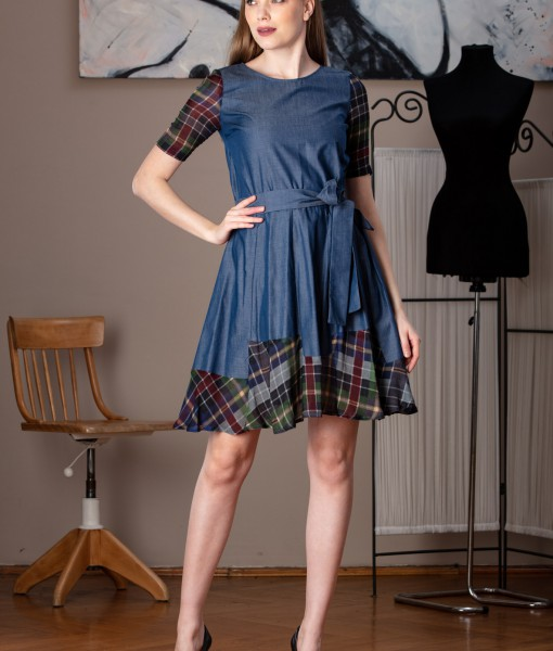 rochie casual din bumbac (2)