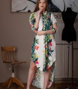 rochie casual din bumbac imprimat (2)