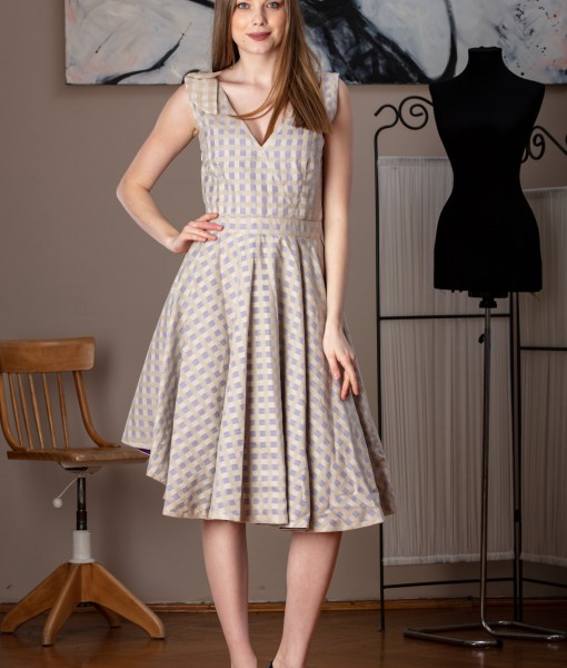 rochie de zi cu funda (2)