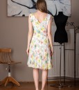rochie de zi din voal imprimat (1)