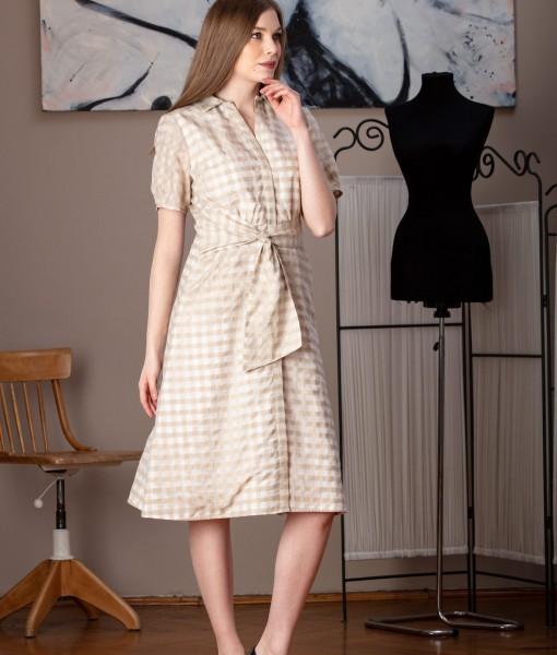 rochie de zi in carouri (3)