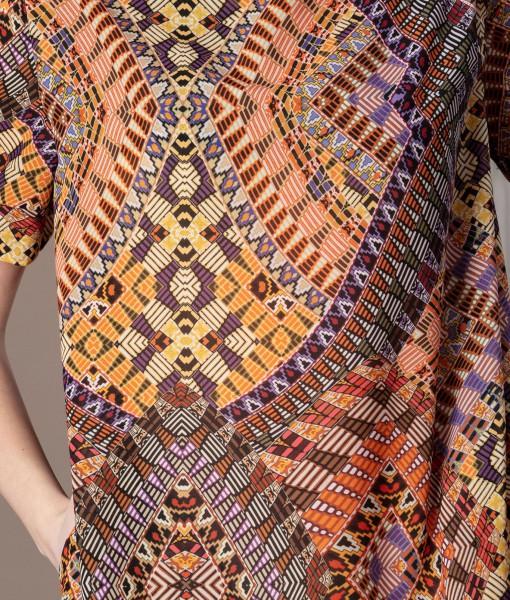 rochie dreapta cu imprimeu (1)