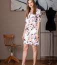 rochie dreapta cu imprimeu floral (3)