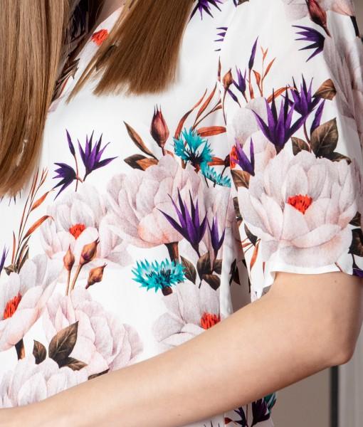 rochie dreapta cu imprimeu floral (4)