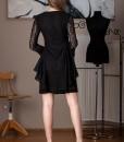 rochie eleganta din dantela neagra (1)