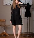 rochie eleganta din dantela neagra (2)