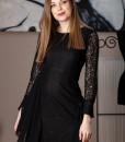 rochie eleganta din dantela neagra (3)
