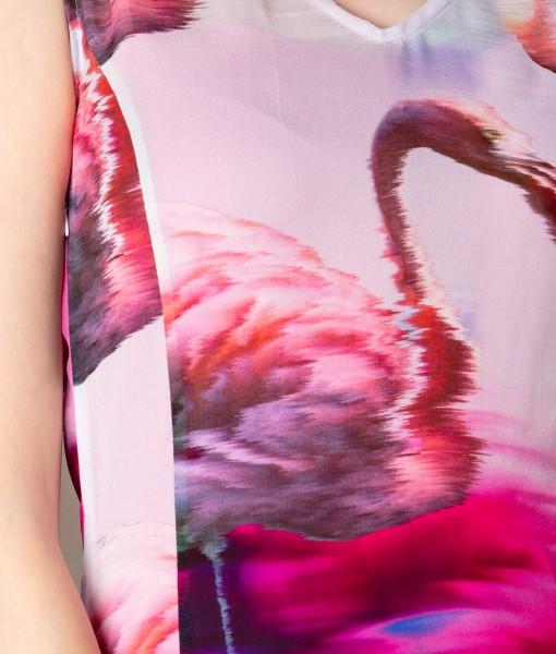 rochie eleganta din voal imprimat (3)