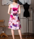 rochie eleganta din voal imprimat (4)