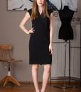 rochie midi neagra (2)