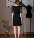 rochie neagra eleganta (1)
