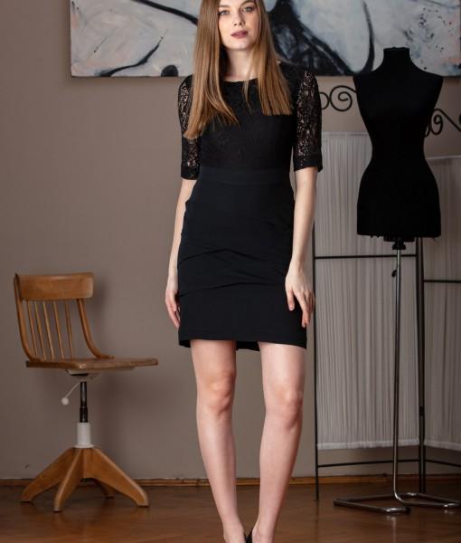 rochie neagra eleganta (3)