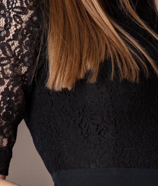rochie neagra eleganta (4)