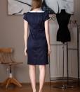 rochie office bleumarin balade (1)