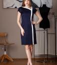rochie office bleumarin balade (2)