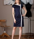 rochie office bleumarin balade (3)
