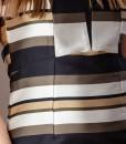 rochie office cu imprimeu dungi (4)