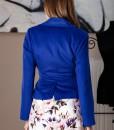 sacou elegant din lana albastra (1)