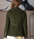 sacou verde din catifea raiata (1)