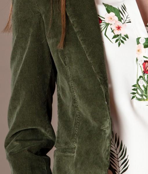 sacou verde din catifea raiata (4)