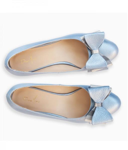 balerini-din-piele-naturala-bleu-cu-funda-darling-14209-40