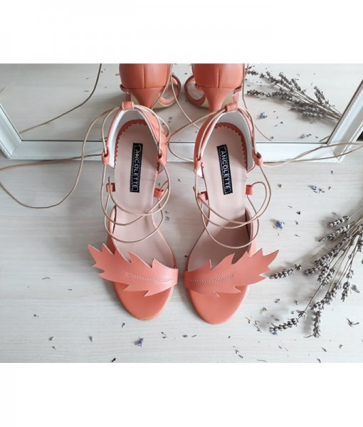 nature-apricot-sandale-cu-inspiratie-din-natura