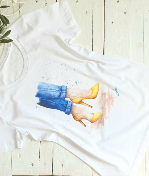 tricou-bumbac-organic-pictat