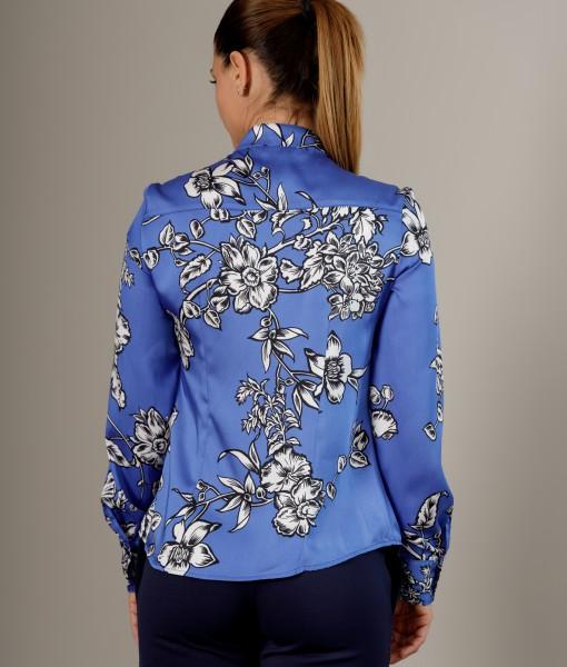 Camasa albastra de vara
