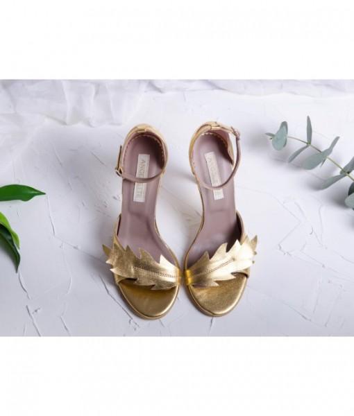 nature-gold-sandale-aurii-piele-naturala