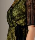 rochie petrecuta cu dantela suprapusa (1)